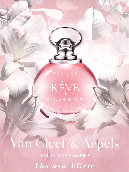 VAN CLEEF & ARPELS Rêve Elixir 2014 United Arab Emirates 'Haute parfumerie - The new ellixir'