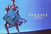 VERSACE Eros 2012 Italy spread 'The new fragrance for men'<br /> MODEL: Brian Shimansky, PHOTO: Mert Alas & Marcus Piggott