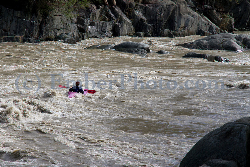 Justin Beckwith - Paddling the Mad River, Vermont in the wake of TS Irene
