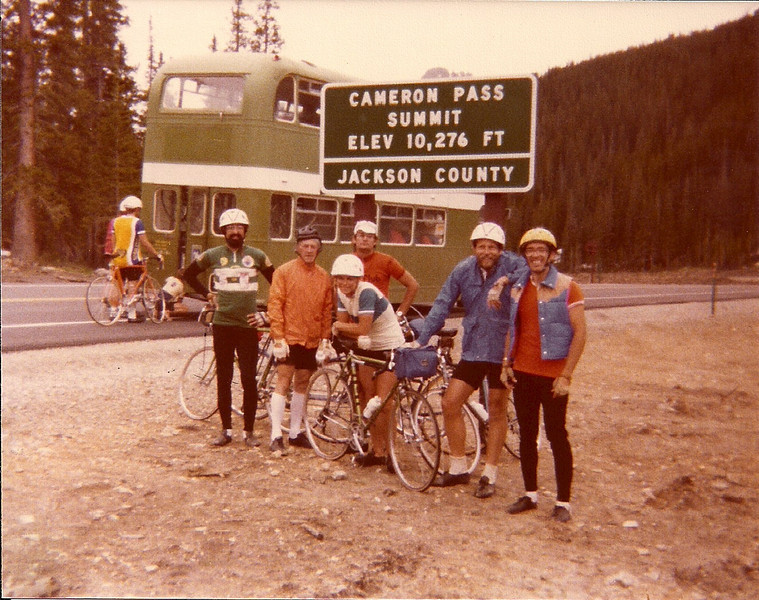 7 Ray Gross,  3 riders, Tom Standing & David Putnam