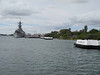 2012 11 25d The USS Missouri from the Arizona memorial