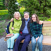 Cousins Steve, Trudy and Julie
