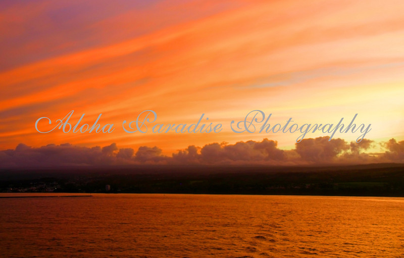 HILO SUNSET, HAWAII