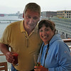 Brother Dan and Sister Donna at the rear deck 10 bar on Tuesday the 8th of July !