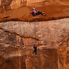 Simul-rappel off of Morning Glory Arch