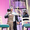 After the medals were handed out, John Schneider and Marie Osmond came on stage for their turn to entertain the crowd.