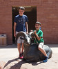 June 10, 2014 - (Arches National Park [Visitor Center] / Moab, Grand County, Utah) -- James & Aaron