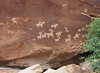 June 10, 2014 - (Arches National Park [Delicate Arch Trail] / Moab, Grand County, Utah) -- Petroglyphs