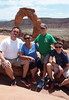 June 10, 2014 - (Arches National Park [above Delicate Arch] / Moab, Grand County, Utah) -- Michael, Emily, Aaron & James