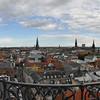 View from the Round Tower (Rundetaarn)<br /> Copenhagen, Denmark<br /> June 26, 2014