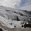 View on Sierra Nevada Spain February 21, 2014