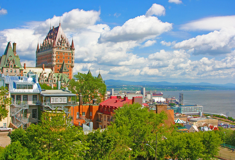 Chateau Frontenac Look Back
