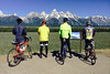 The Grand Tetons in all their glory. This is why we are riding across America…
