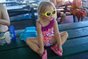 October 21, 2013 - (Kahalu'u Beach Park, Hawaii County, Hawaii) -- Ada waiting to go swimming