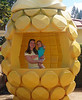 October 15, 2013 - (Dole Plantation, Honolulu County, Wahiawa, Hawaii) -- Katie & Ada at the Dole Plantation