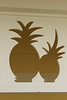 October 15, 2013 - (Dole Plantation, Honolulu County, Wahiawa, Hawaii) -- Pineapple carvings on the Dole Plantation