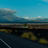 A rainbow in a cloud as seen from the Queen K highway between Hilton Waikoloa Village and Mauna Lani.