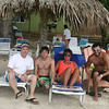Todd, Alex, Lori and Cory on the beach in Negril, Jamaica ( 2013 )