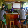 Alex and Cory at a beach bar in Negril, Jamaica ( 2013 )