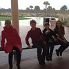 The courting bench, Ryder Cup Bar, Kiawah Island. January 2014.