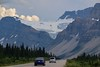 Jan's photo of the Icefields Parkway. This road serves up a snow-capped mountain view for hours on end. Voted one of the most beautiful drives in the world. That would be hard to argue.
