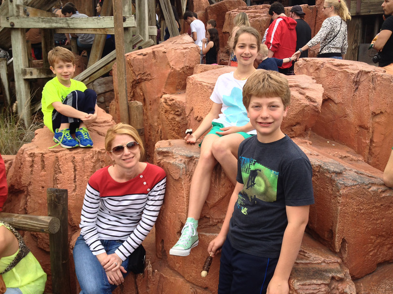 Thunder Mountain! Disney 2014.