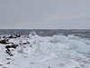 February 2, 2014 - (Brighton Beach / Duluth, Saint Louis County, Minnesota) -- Ice on Brighton Beach Park