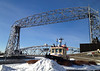 February 4, 2014 - (Draw Bridge [from Canal Park] / Duluth, Saint Louis County, Minnesota) -- Draw Bridge