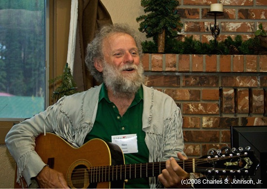 May 22, 2008 - (Big Mountain Lodge / Whitefish, Flathead County, Montana) -- David Streeter performing for ElderHostel group