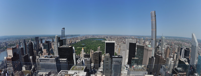 View of Central Park from Top of the Rock<br /> New York City<br /> May 23, 2015