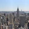 View of Manhattan from Top of the Rock<br /> New York City<br /> May 23, 2015