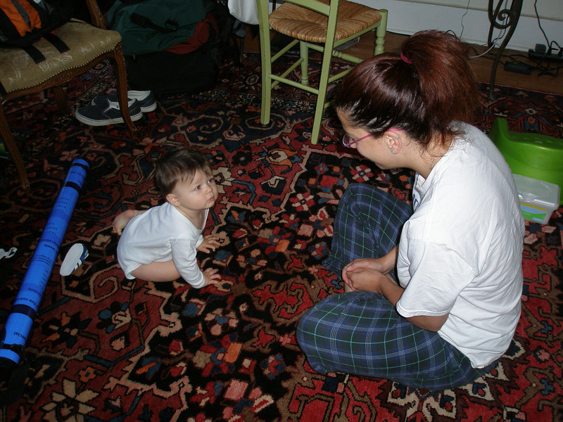 Bam Bam and Auntie Lori