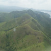 Passing over the mountains of Busuanga