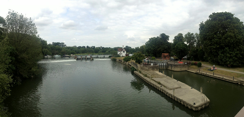 Lock on Thames