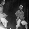 Coach Dick  Ware and Chasey Wilson…Majorettes Cheerleaders Review, 1954 BHS
