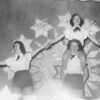 Majorettes Cheerleaders Review, 1954 BHS