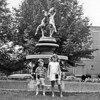 Skip and Debbi. Rose Garden, Harrisburg. Aunt Mandy's Fountain.
