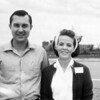 Jim Rhodes and wife Lois. Manager of McCrory's #321 Ft. Worth.