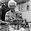 Great Grandma Stroh and Skip
