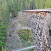 Kinsol Trestle, rebuilt after a fire. Photo c/o Russ Diabo