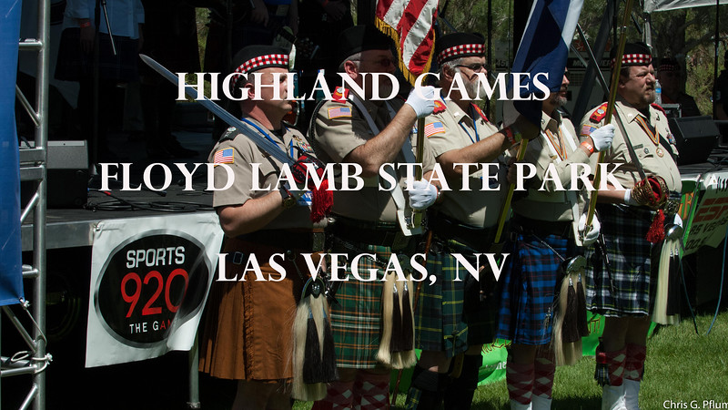 Scottish clansmen from at least four states, Arizona, California, Utah and Nevada, gathered in Las Vegas to celebrate the Highlander Games.  The games include strength, bagpipes and dance competitions.  The friendly participants eagerly discussed their Scottish heritage and did not mind my photography..