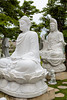 Buddha images stone sculptures near the Marble Mountains south of Da Nang, Vietnam, Asia.