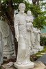 Christian Catholic stone sculptures near the Marble Mountains south of Da Nang, Vietnam, Asia.