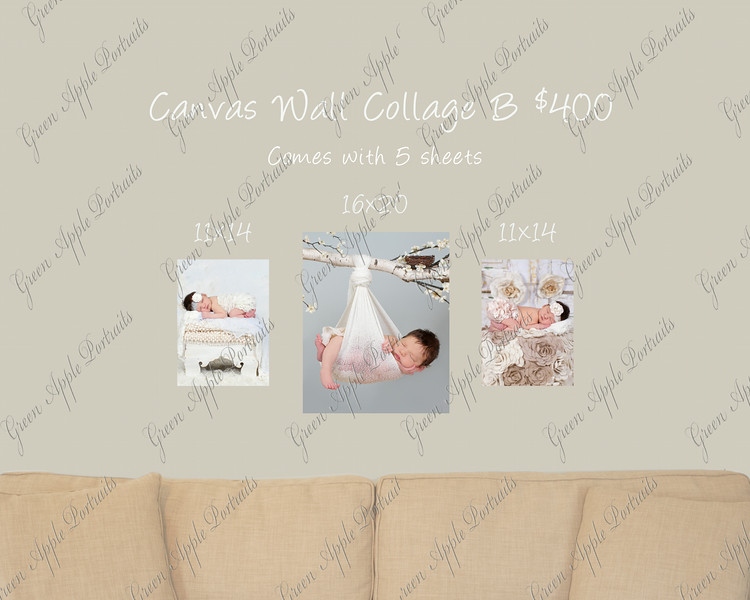 Canvas Wall Collection B