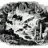 Vintage Bats in Cave Illustration - 1800s Bat Images
