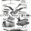 Vintage illustration of Planes from Meyers Konversations Lexikon 1913 Encyclopedia. Antique digital download of old print - plane; planes; craft; fly; flying; hover; airplane; mechanical; machine; machinery; steampunk.  The natural age-toning, paper stains, and antique printing imperfections are preserved in this 1900s stock image.