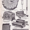 Vintage illustration of Calculators from Meyers Konversations Lexikon 1913 Encyclopedia.  Antique digital download of old print - calculators; calculator; math; tools; scientific; mechanical; machine; steampunk.  The natural age-toning, paper stains, and antique printing imperfections are preserved in this 1900s stock image.