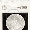 Vintage 1800s Sepia Illustration of Astronomy Tools.  The natural patina, age-toning, imperfections, and old paper antiquing of this vintage 19th century illustration are preserved in this image.