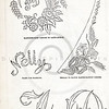 Vintage 1800s Sepia Illustration of Victorian Linen Designs - GODEY'S & PETERSON'S LADY'S MAGAZINES.