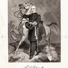 Vintage 1800s Black & White Illustration of Civil War Military Portrait - NATIONAL HISTORY OF THE WAR FOR THE UNION by E.A. Duyckinck.